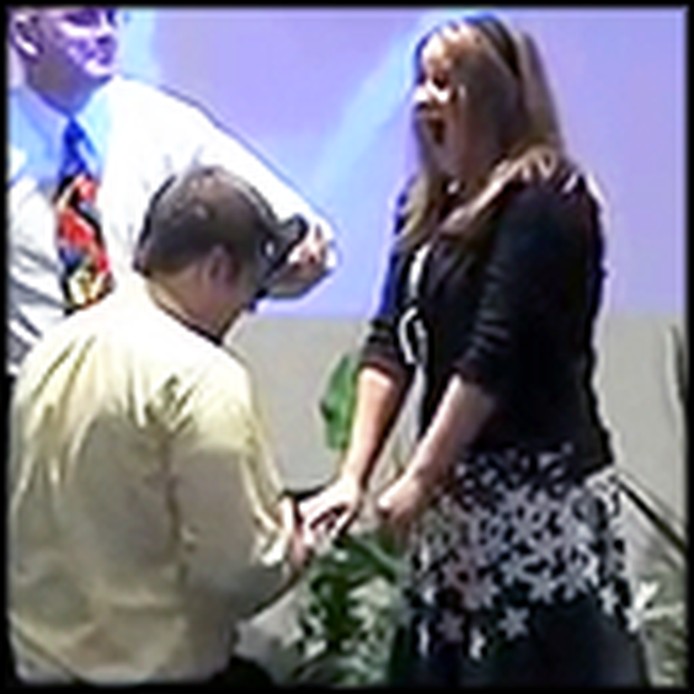 Girl Gets the Heartwarming Birthday Surprise of her Life at Church