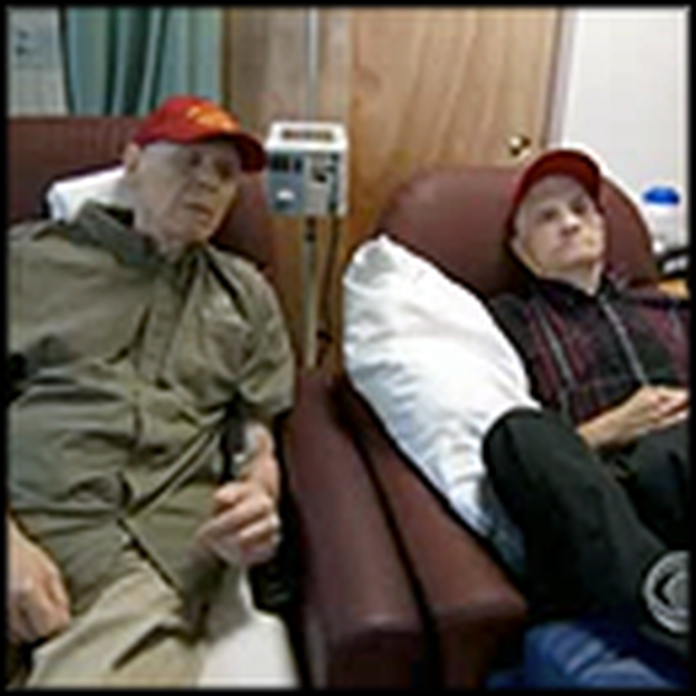 Medic War Veteran with Dementia Still Takes Care of His Men