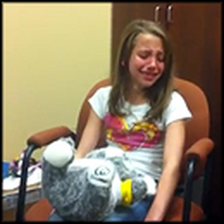 10 Year Old Breaks Down in Tears After Hearing for the First Time