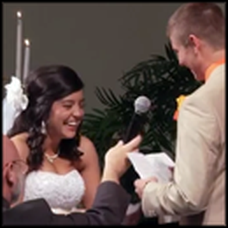 Watch the Wedding Vows That Everyone is Talking About
