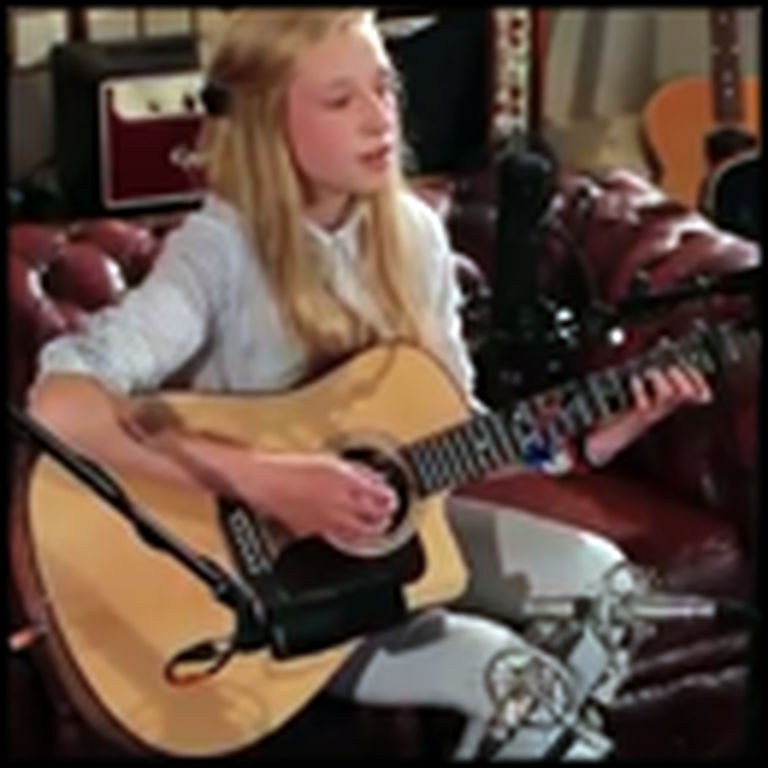 13 Year Old Girl with a Gorgeous Voice Sings her Original Song