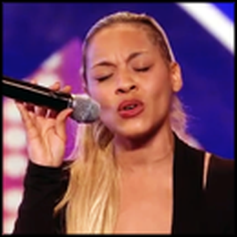 Single Mom's Awesome Song Amazes the Judges