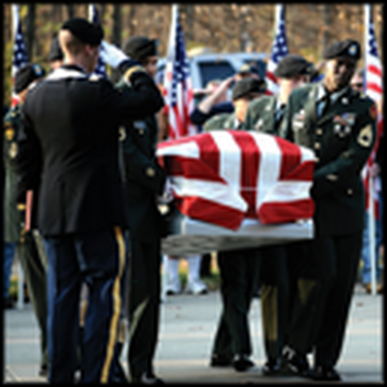 Fallen Soldier is Carried Home by an Angel - a Beautiful Tribute Video