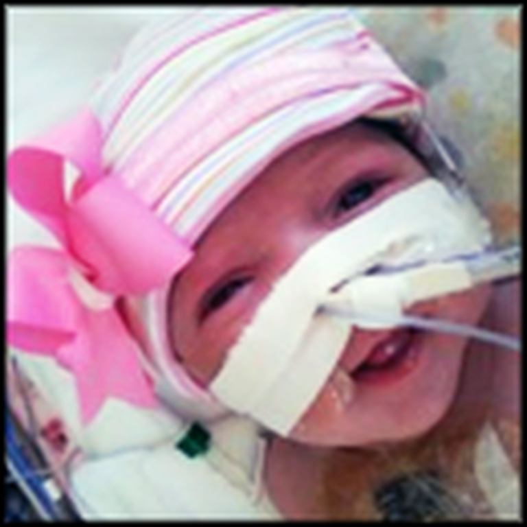 Baby Girl is Born Without a Heart in Her Body - and She Survives
