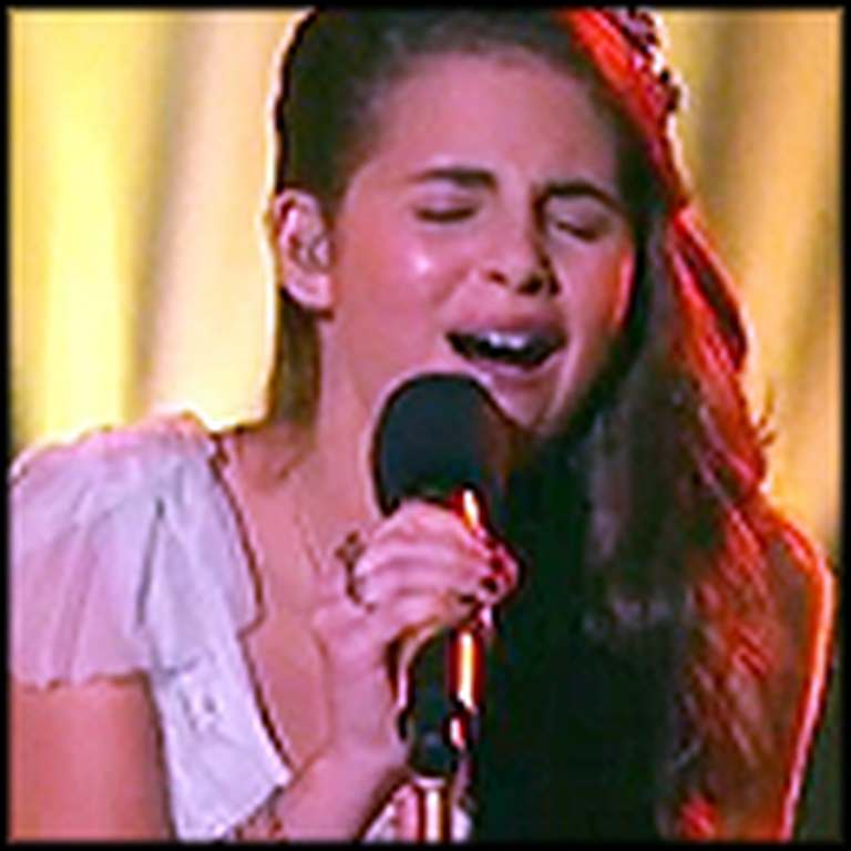 13 Year Old Sings a Touching Song Dedicated to her Brother