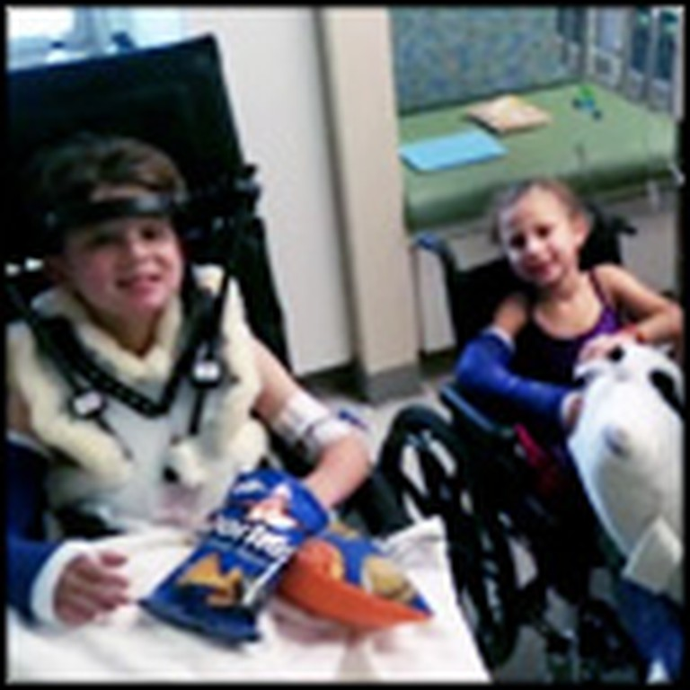 NFL Player Befriends 3 Paralyzed Orphans