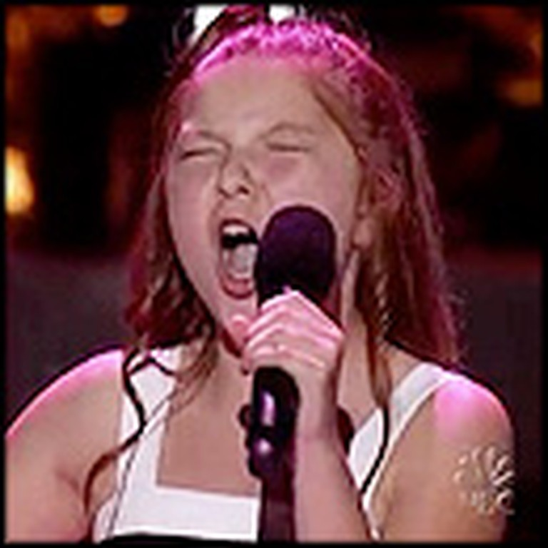 11 Year-Old Brings Judges to Their Feet With Her Unbelievable Audition