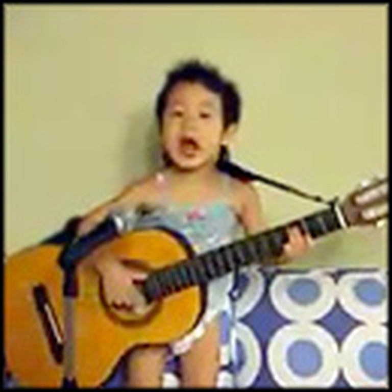 The Cutest Performance of Hey Jude by a Toddler