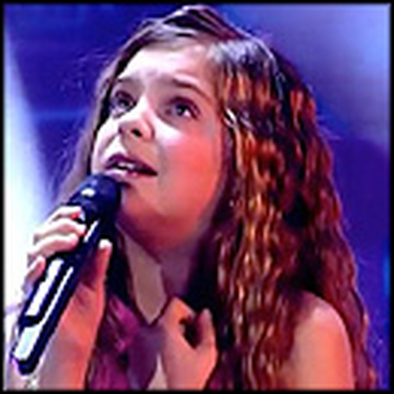12 Year-Old French Girl Shocks Audience With Her Unbelievable Voice