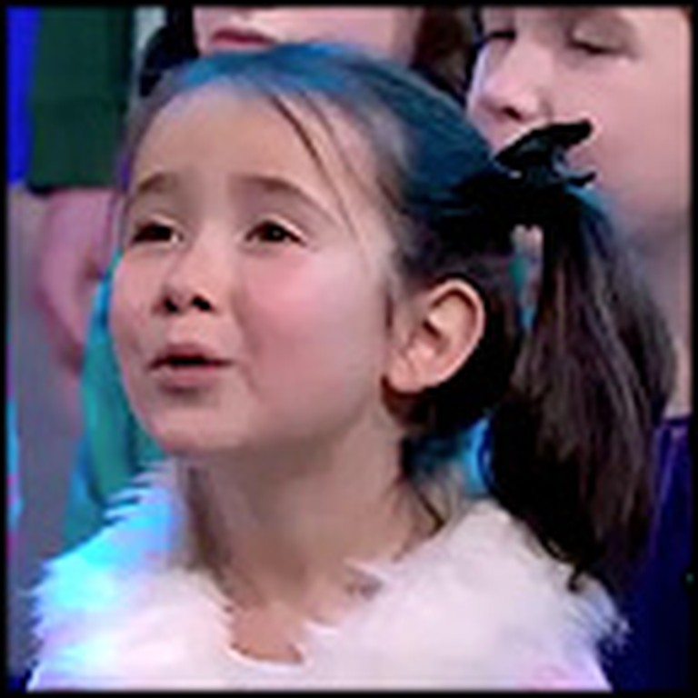 Children of Newtown Sing a Tear Jerking Performance