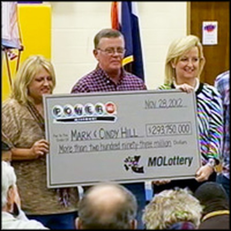 Christian Lottery Winners Make a Generous Contribution to Help Community