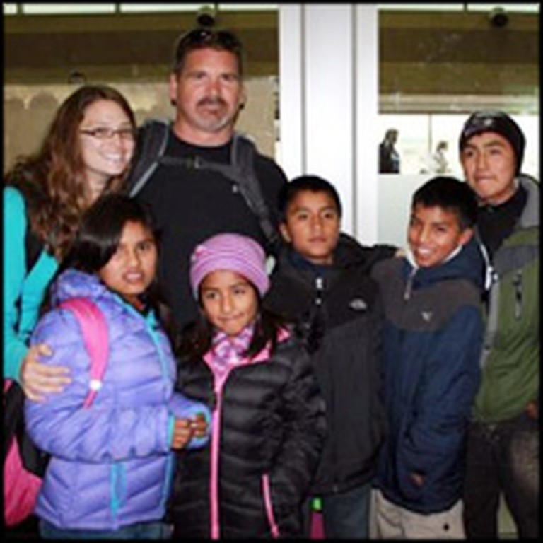 Family Adopts 5 Orphaned Peruvian Siblings