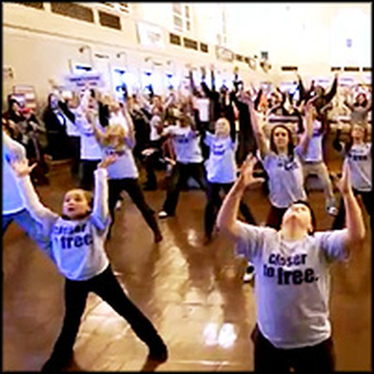Flash Mob of Cancer Survivors Will Inspire You to Enjoy Life