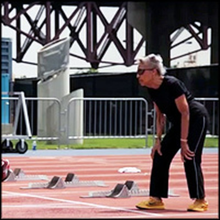 97 Year Old Track Runner Works to Break the Record for 100m Dash