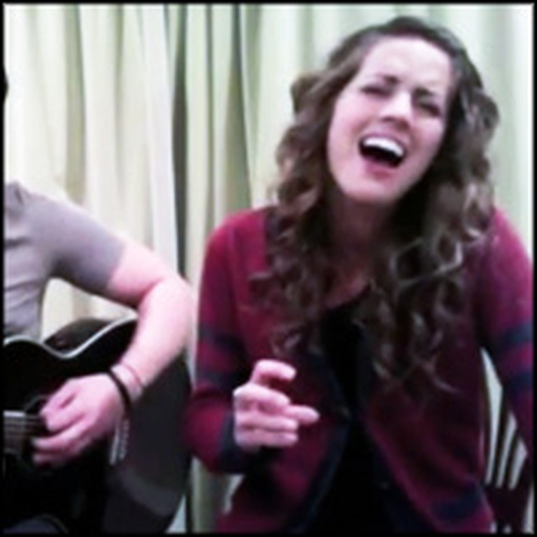 American Idol Contestant Angie Miller and Her Brother Sing a Worship Song