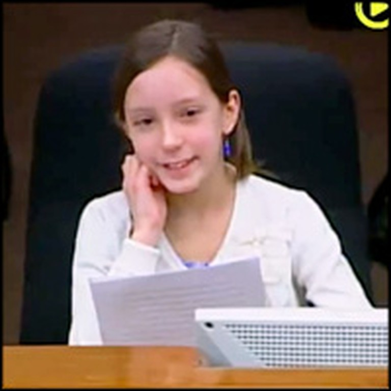 11 Year-Old Girl Bravely Defends the Sanctity of Marriage