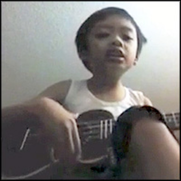 Adorable 4 Year-Old Sings Praises to Jesus and Plays Ukulele