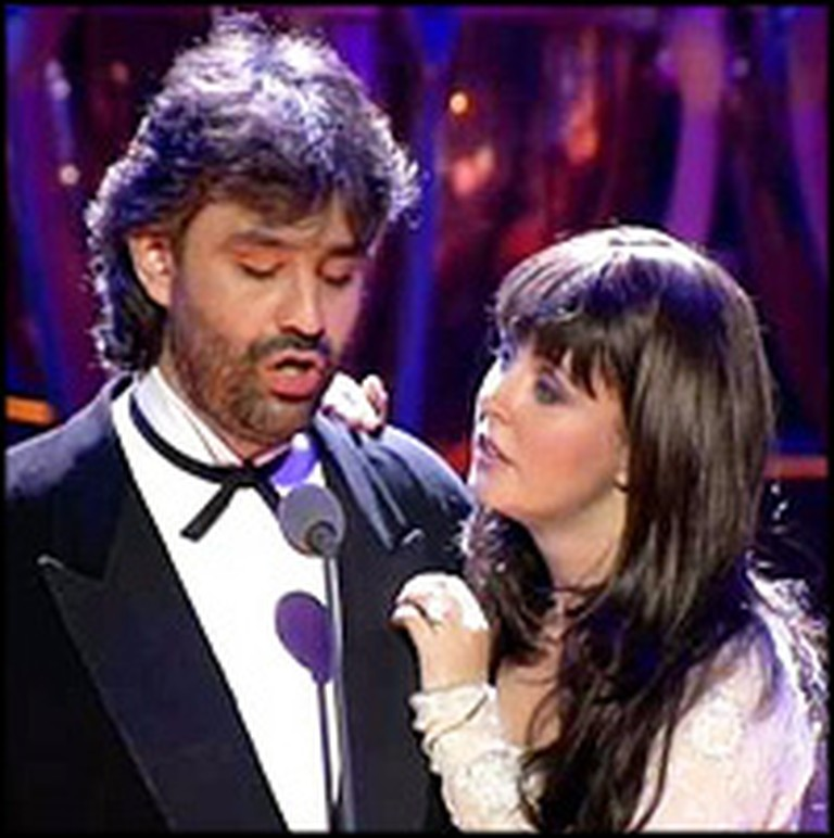 Sarah Brightman and Andrea Bocelli Sing the Most Heavenly ...