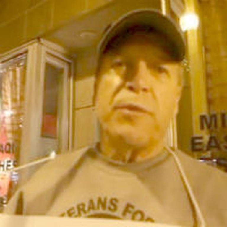 Veterans Protest In Iraqi Restaurant After Their Windows Get Smashed
