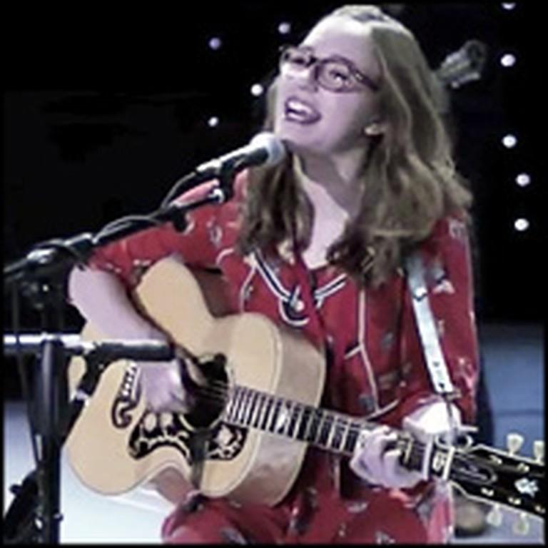 Sister Internet Sensations Sing on a Popular TV Show