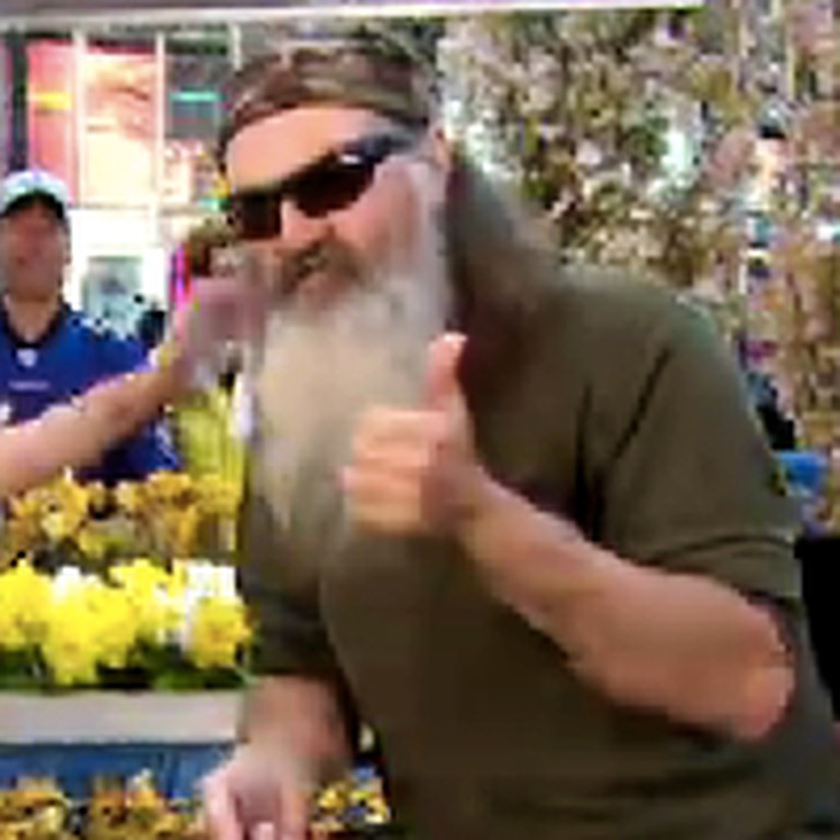 Duck Commander Phil Robertson Shares His Testimony on Good Morning America