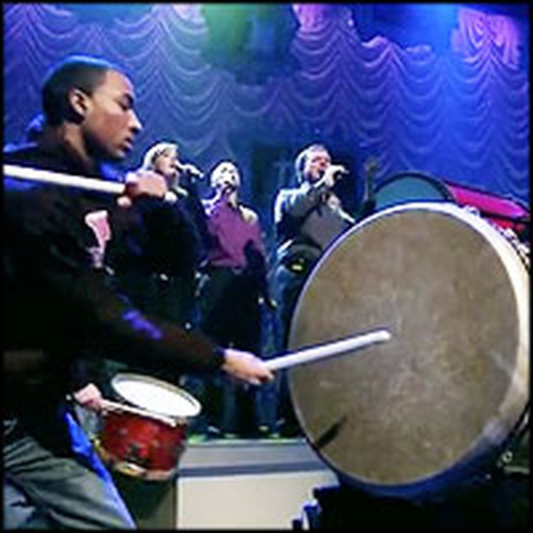 Watch the Most Unique Arrangement of How Great Thou Art ... Using Drums! Wow.