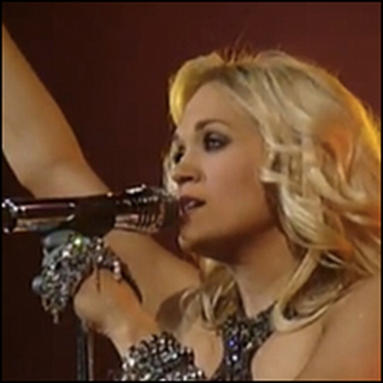 Carrie Underwood Sings the Hymn Just As I Am