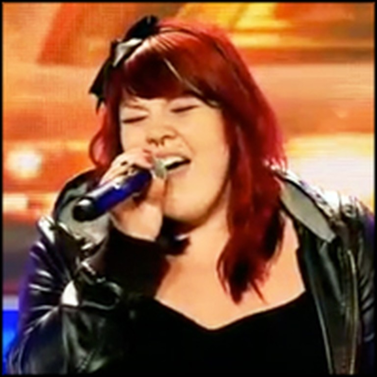 Girl Picked on For Being Overweight Sings Her Heart Out - She's Fantastic