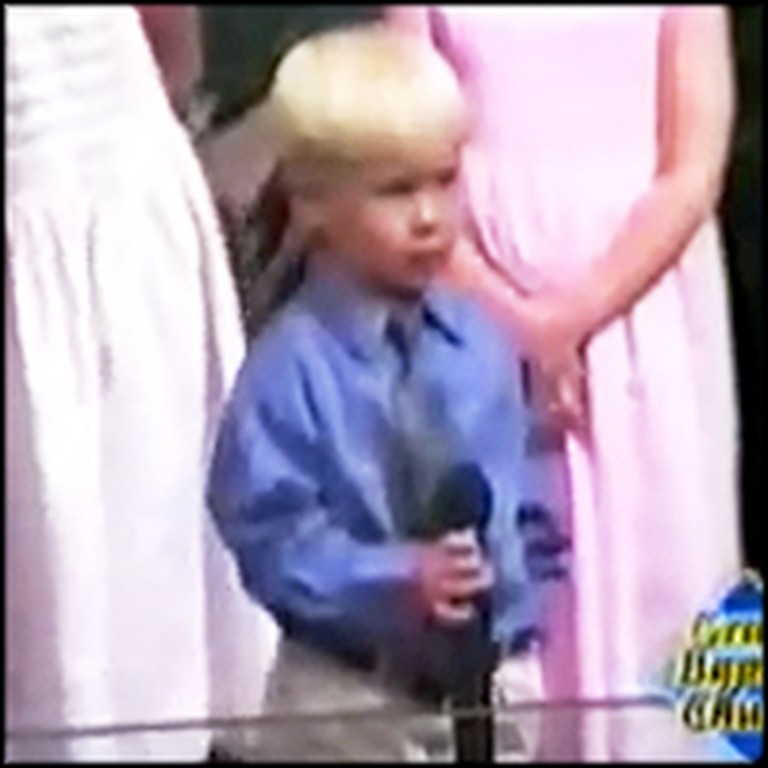3 Year-Old Sweetie Sings the Cutest National Anthem Ever