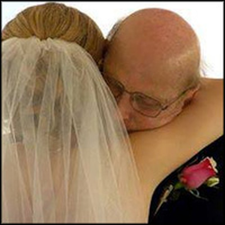 Dying Father Shares a Last Dance with Daughter ... Before Her Wedding