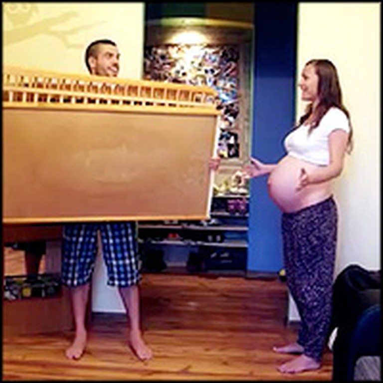 Couple Makes the Coolest Video to Celebrate the Arrival of New Baby