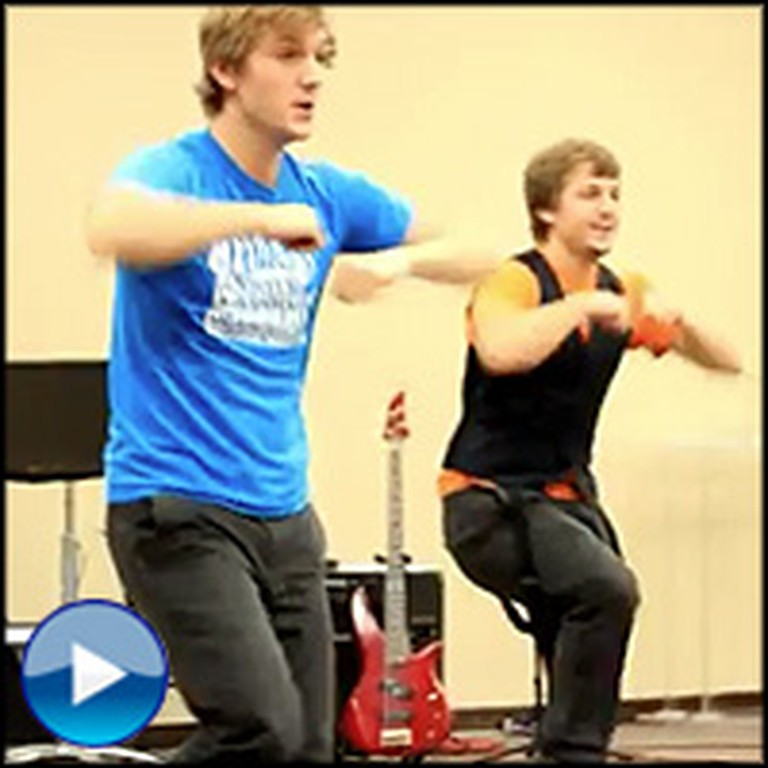 Teenage Twin Boys Perform a Christian Dance That'll Leave You Speechless