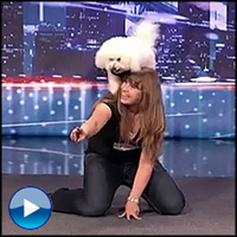 What a Girl and Her Dog Can do Together Will Drop Your Jaw. Amazing!
