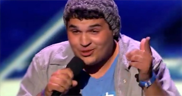 Boy with Tourette's Overcomes His Disabilities to Sing - and He is AWESOME.