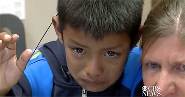 When You See This 7 Year-Old Hear His Mommy for the First Time, You'll Cry!