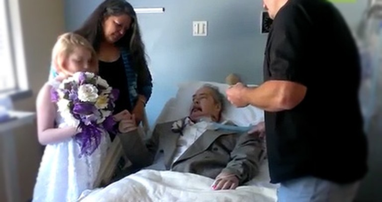 Her Daddy Was Dying - So She Gave Him a Wedding He Would Never See
