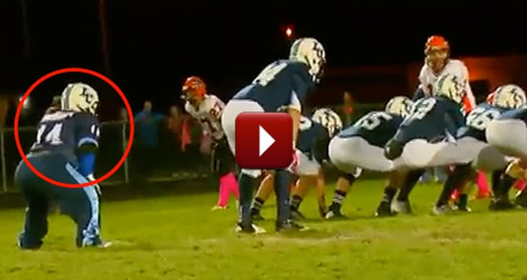 A Waterboy with Down Syndrome Became a Football Team's Hero