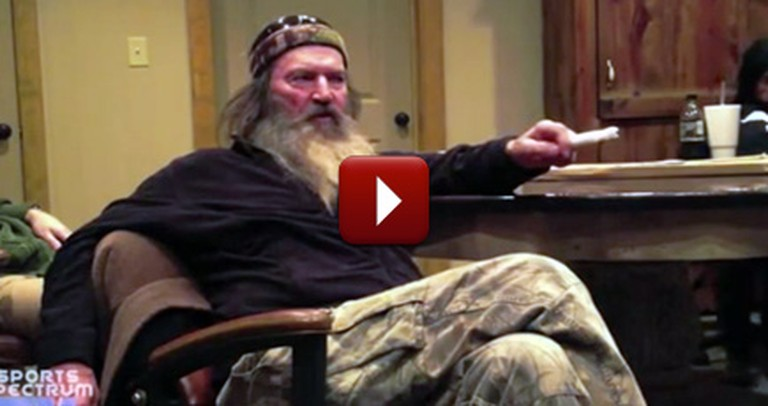 Hollywood Wanted to Change Duck Dynasty - But Faithful Christian Phil Robertson Wouldn't Allow It
