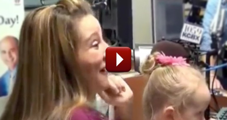 What Happens During This Live Radio Interview Will Melt Your Heart to Pieces :)