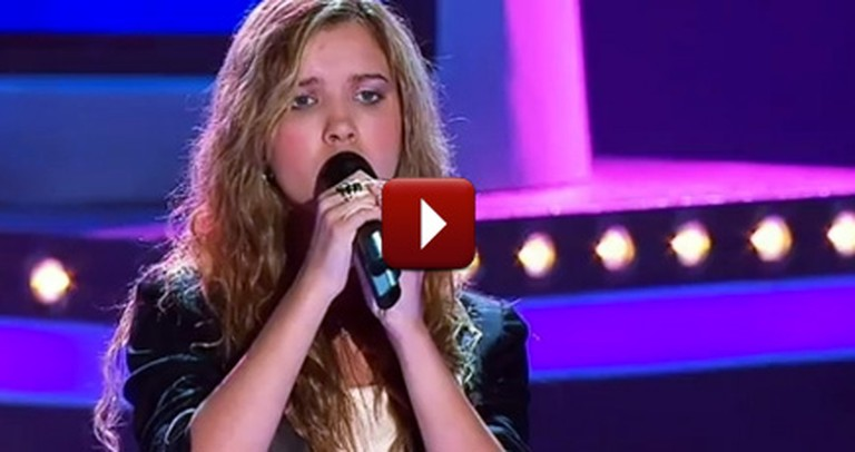 Blind Girl on The Voice Gets Every Judge to Turn Around