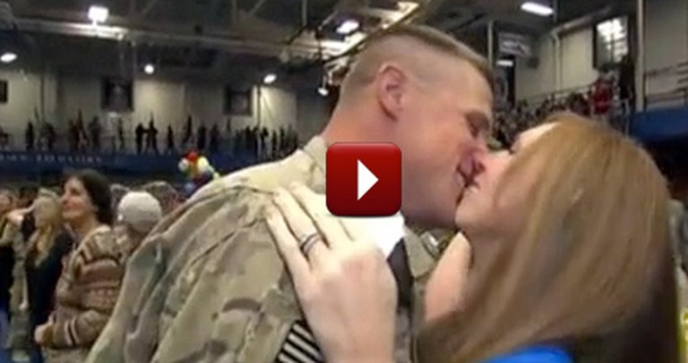 This Behind-the-Scenes Military Reunion Will Simply Melt Your Heart