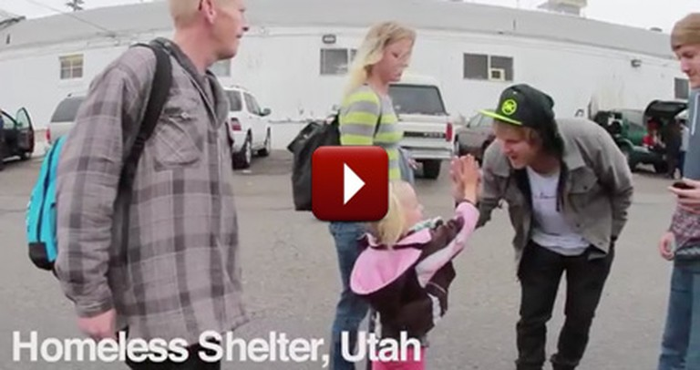 Homeless Family Down on Their Luck Gets a Heartwarming Surprise