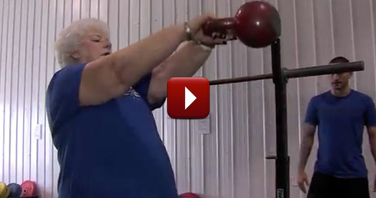 This Grandmother is 73, but She Won't Give Up On Her Dreams of Weight Lifting