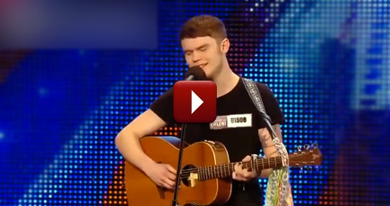 A Boy's Heartfelt Song Completely Silences the Crowd