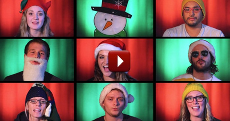 Get in the Holiday Spirit With This Merry A Capella Video :)