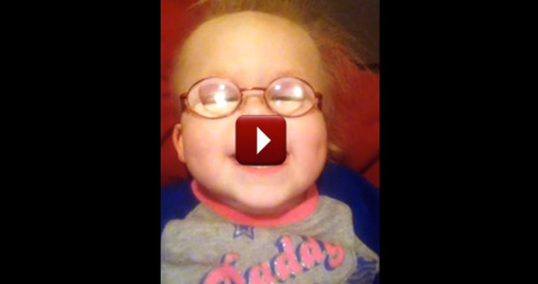 An Adorable Baby Sings Silent Night With Her Mommy
