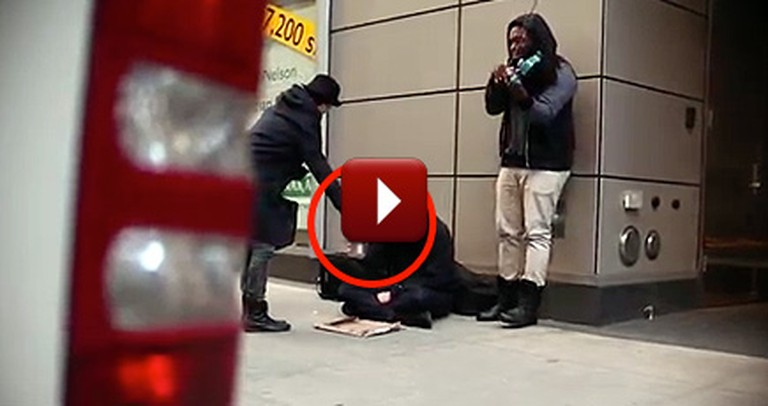 They Thought They Were Giving to the Needy - But They Got a Surprise!