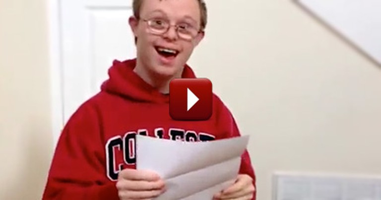 A Young Man With Down Syndrome Receives an Incredible Surprise