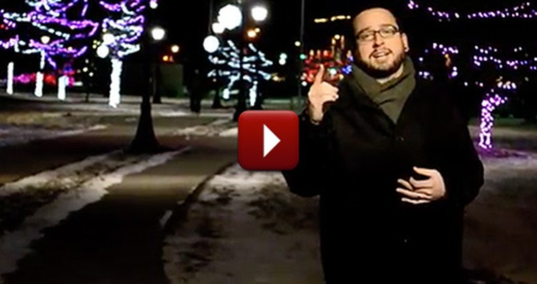 An Incredible Spoken Word Poem About Christmas and God's Light