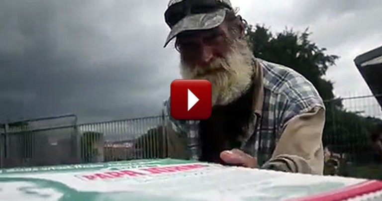 There's Something Different About This Pizza Delivery - and It'll Melt Your Heart